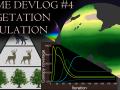 A differential equation based vegetation simulation