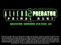 Aliens vs. Predator 2 Primal Hunt Master Server Patch