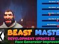Beast Master - Development Update 23 - Face Generator Improvement