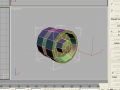 Unwap a simple wheel in 3ds max