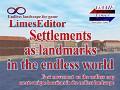 LimesEdiror 0.0.6. Settlements  as landmarks in the endless world