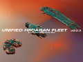 Unified Hiigaran Fleet 0.0.3 for Homeworld 2 Released