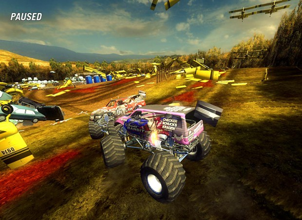 New Carpack 3 and Updates 2 are done for Community Mod for FLatout 2.