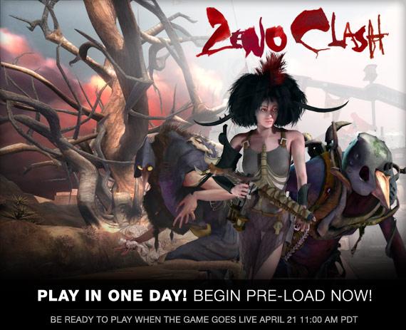 Zeno Clash is Pre-loading now!