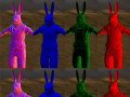 Character normal maps