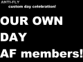 Why don't we celebrate with our own day?