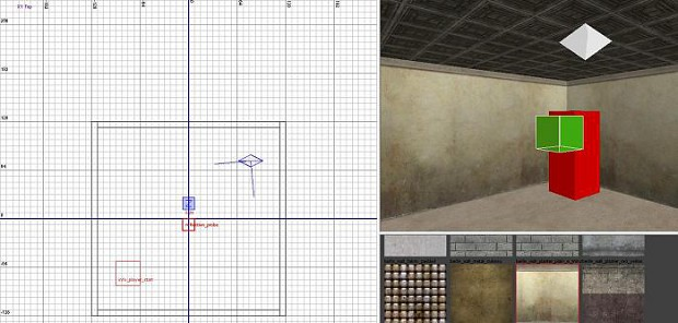 How to create a basic room for Call of Duty World at War