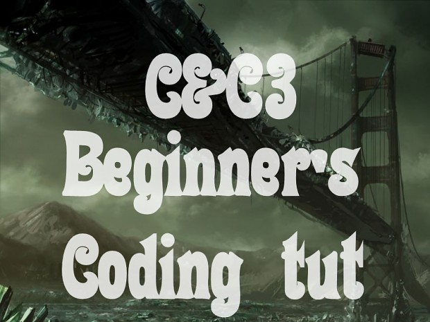 [C&C3] Beginning modder's guide (coding)