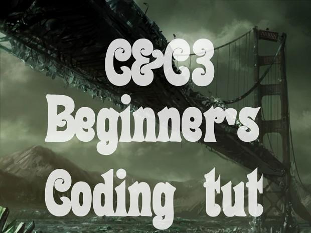 [C&C3] Beginning modder's guide (coding)