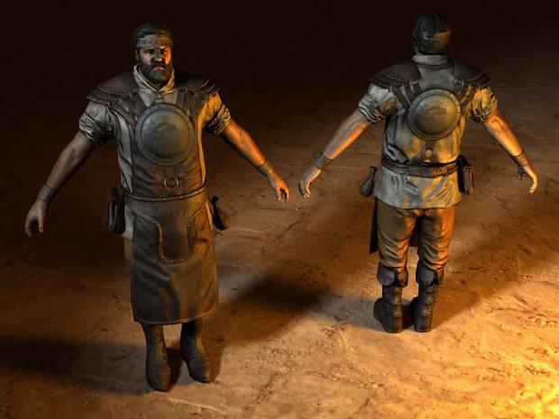 Siege Engineer and Animation Overhaul