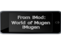 From iMod: World of Mugen iMugen