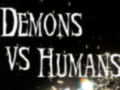 Demons vs humans - Demon of hell fire