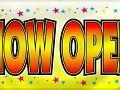 NOW OPEN!!!
