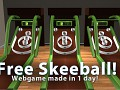 Free Skeeball game made in one day!