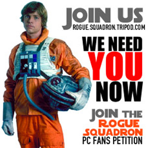 Rogue squadron 3d (aka rs1) fans petition