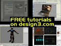 FREE tutorials released on design3