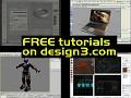 FREE tutorials released on design3