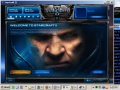 How to make StarCraft II run in a Lower Resolution then 1280x720
