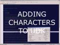 Adding Characters To UDK