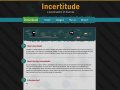 Incertitude: Website and More Gameplay