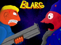 Shotgun + Magicians = Blarg, a 2D shoot'em up.