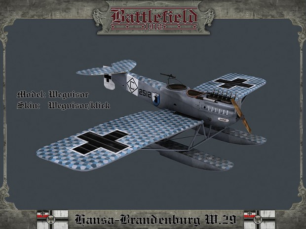 New maps for the US Army and the Hansa-Brandenburg W.29