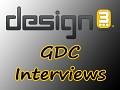 design3's GDC Interview List - Ask Your Questions!