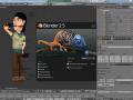 Changing the 3D modeling plataform to Blender 2.5