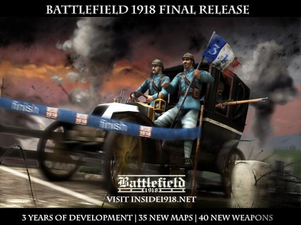 Major Release BF 1918 3.1