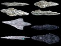 Rebel, Empire and Pirate models pack from Evillejedi´s Homeworld pack