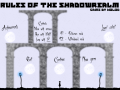 Rules of the Shadowrealm v.1.01