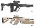 Weekly Update #5: Team Update, and New Assault Rifle Concepts