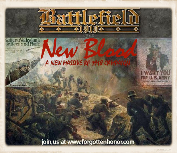 F|H Battlefield 1918 Campaign & MOTY