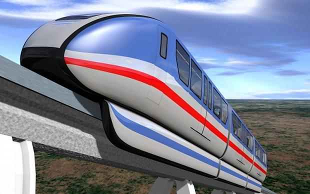 On a Rail... the Promo-Train!