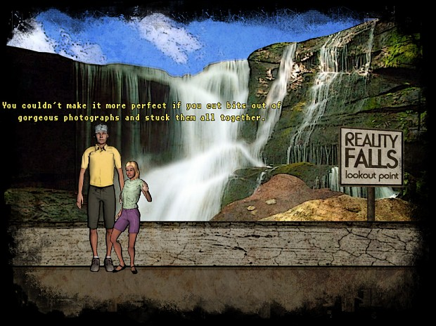 Reality Falls announced - a first-person point-and-click adventure