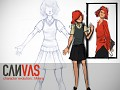 CANVAS Character Evolution : Milena