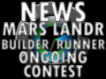 Mars Lander Builder/Runner and ongoing Contest Details!