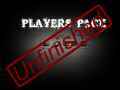 Unfinished player pack