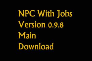 NPC With Jobs 0.9.8
