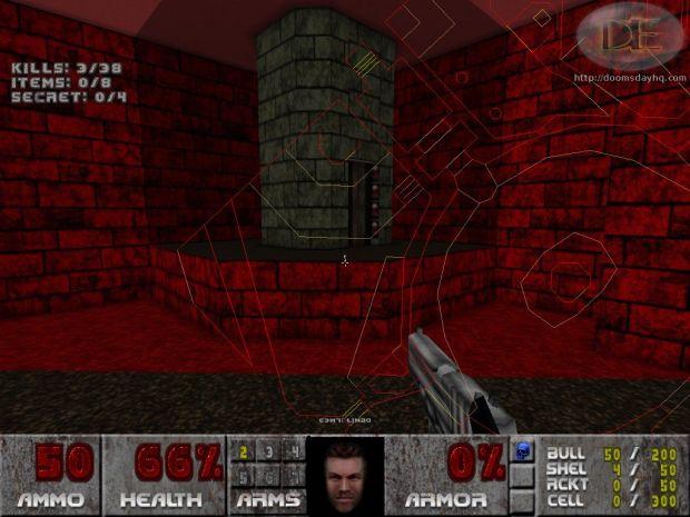 Wolfenstein HUD face for Doom