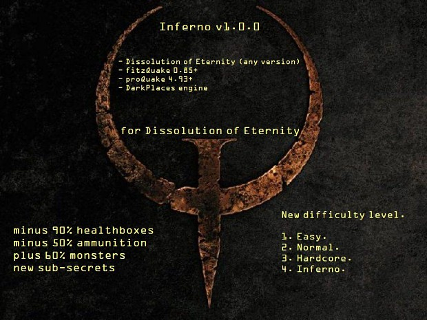 Inferno v1.0.0 for Dissolution of Eternity