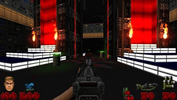 Brutal Doom Basic HUD (Project Brutality fix)
