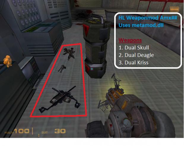 [AMX] Valve Triple Dual Weapons pack