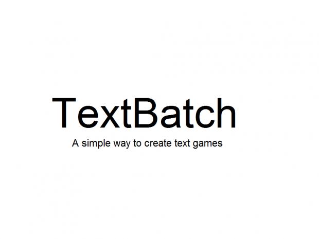 TextBatch Engine v0.0.1