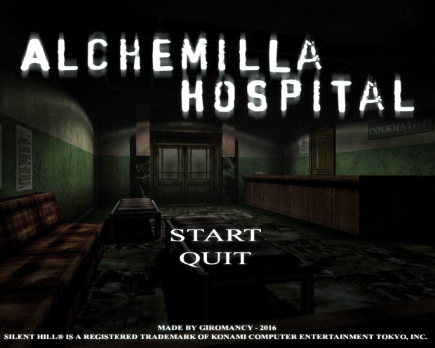 Hospital Alchemilla (Totalmente explorable) Demo