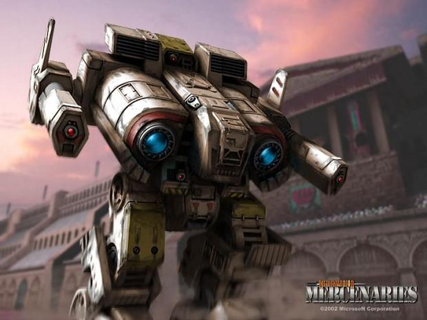 Mechwarrior 4: Mercenaries Demo