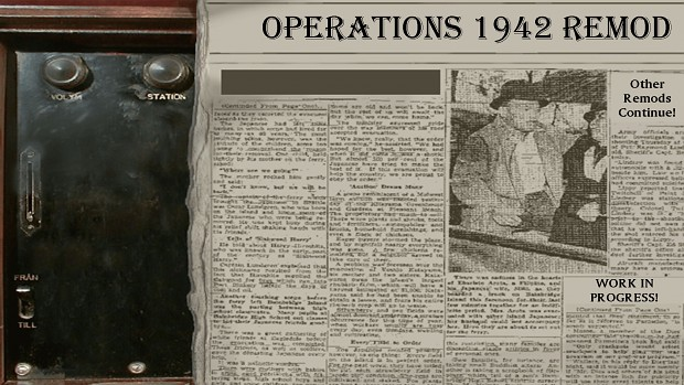 Operations 1942 - Remod