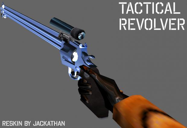 Tactical Revolver Reskin