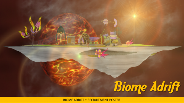 Biome Adrift: Recruit Doc with Project Overview