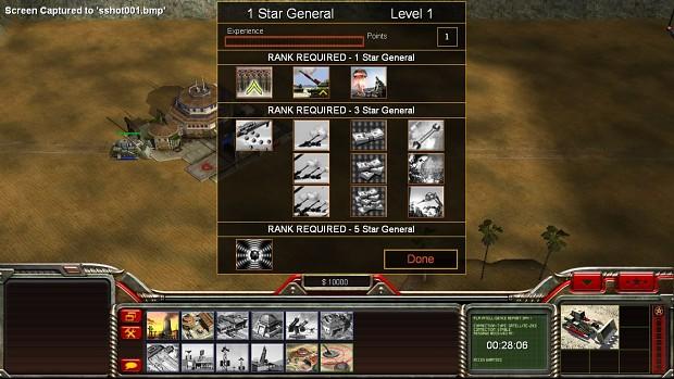 C&C Generals HD User Interface (Updated)